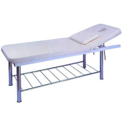 Solid Massage rail table with lift back