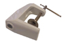 #CAPG052W Small white table mount for light
