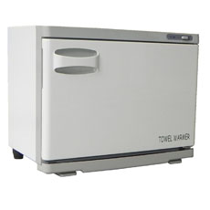 hot towel cabinet, opens left to right - 18 litre - #CAPR018
