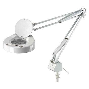 Standard beauty magnifying lamp with clamp - #CAPG008W