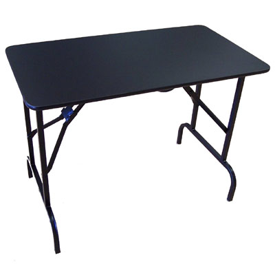 Manicure tables standard and portable capital salon for Fold away nail table